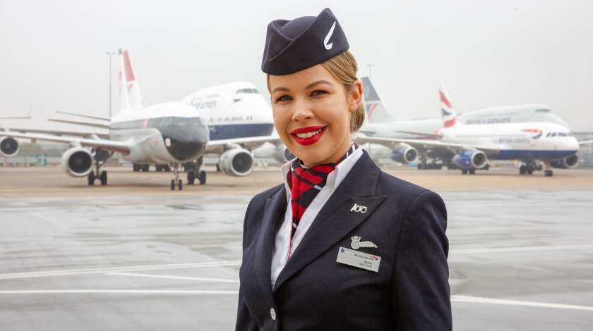 British Airways Heritage Liveries All Come Together