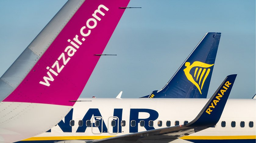 wizz air and ryanair