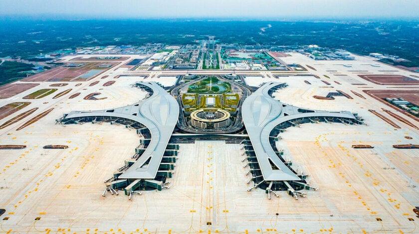Chengdu Tianfu International Airport Opens To Flights